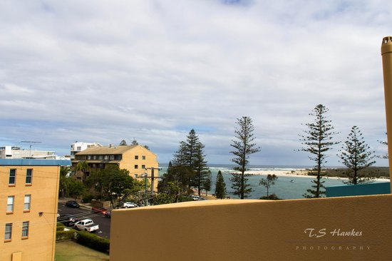 Breakfree Grand Pacific Resort Sunshine Coast: View from the rooftop of room 67