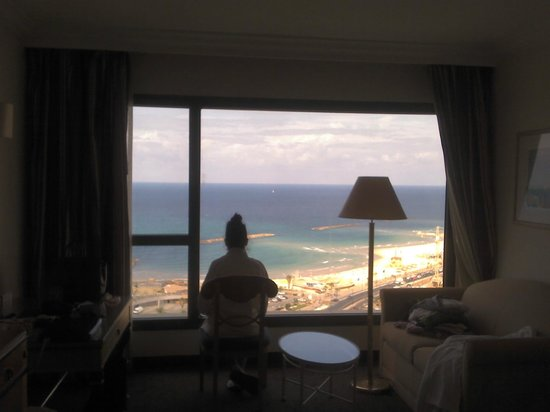 InterContinental David Tel Aviv: The view from room, good mourning!