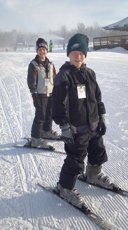 Carroll Valley, PA: My kids hitting the slopes!