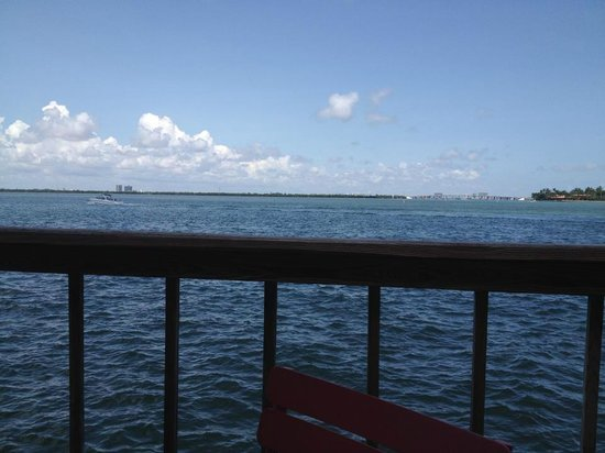 The Standard, Miami: View at Lunch at Lido Restaurant