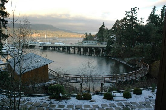Brentwood Bay Resort & Spa: Fabulous view from our balcony