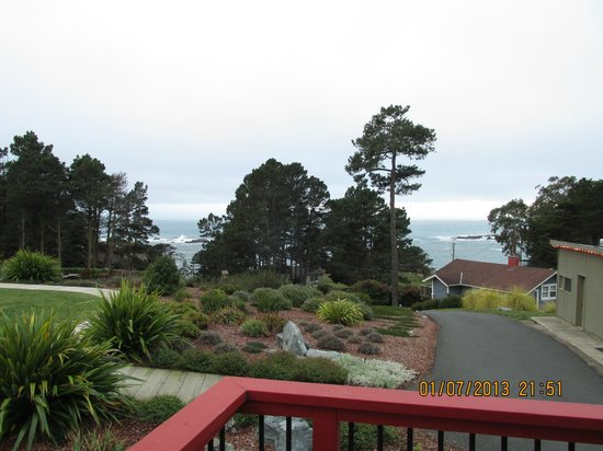 Cottages at Little River Cove : View from Farallon cottage deck