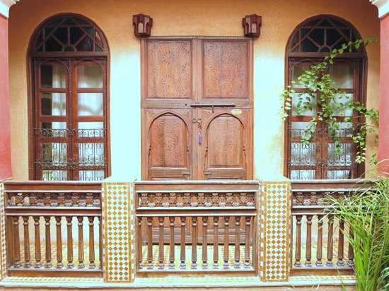 Riad Des Epices: puerta de una hbitacin