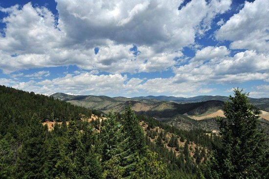 Evergreen Mountain Castle: Continental Divide Views