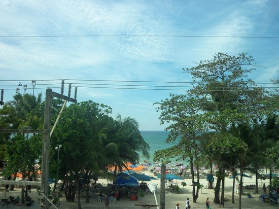 Patong Beach Bed and Breakfast: Beach View from the room