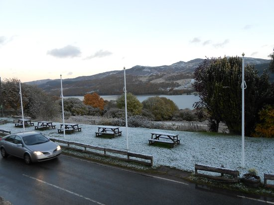 Strath Tummel, UK: Another view from our room