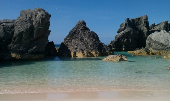 Southampton, Bermuda: horseshoe beach