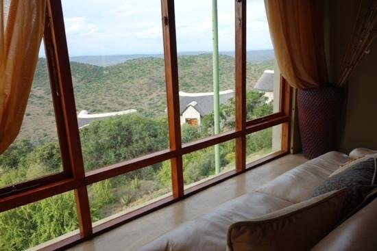 Kuzuko Lodge: View from the lounge