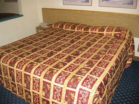 Howard Johnson Inn & Suites Vancouver/By Vancouver Mall: King bed