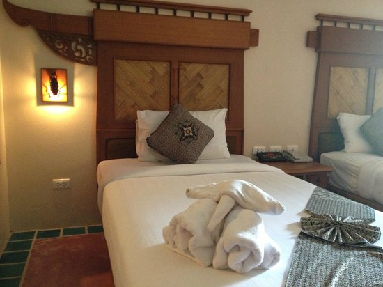 Aonang Princeville Resort: Bed
