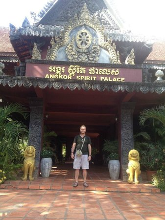 Angkor Spirit Palace: The hotel