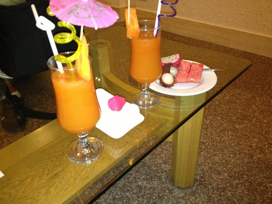 Art Hotel Hanoi: Welcome drink