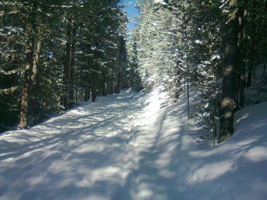 ‪‪Rainbow Ranch Lodge‬: Nearby Big Sky cross country skiing