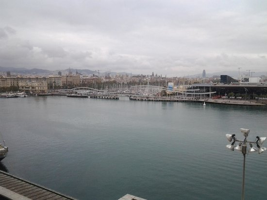 Eurostars Grand Marina Hotel: port de vell - view from our room