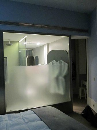 lx boutique hotel bathroom cube in room soundproof