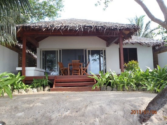 Vale Vale Beachfront Villas: Our villa