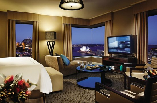 Four Seasons Hotel Sydney: Grand Premier Full Harbour View Room
