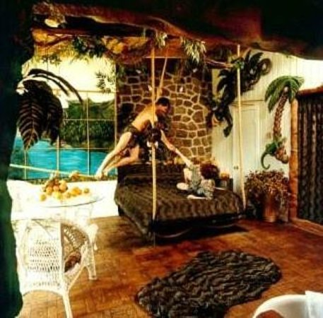 La jungle dans la chambre tarzan et jane picture of for Chambre de reve