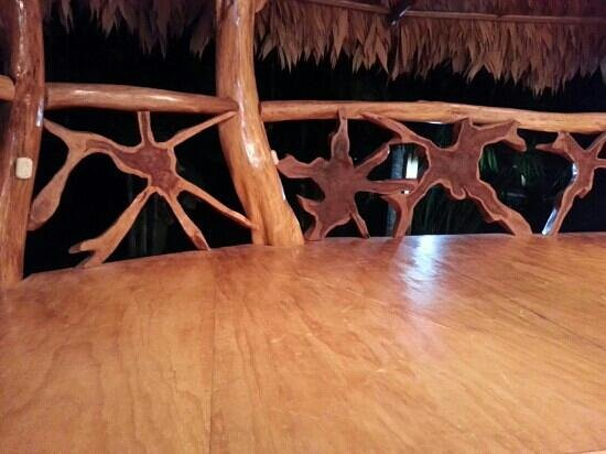 Cocles, Costa Rica: cool woodwork!