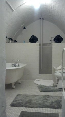 Abe's Spring Street Guest House: The Unique huge bathroom
