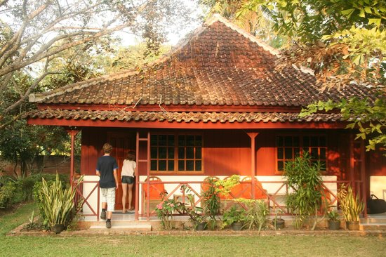 Satwa Elephant Eco Lodge : our cottage