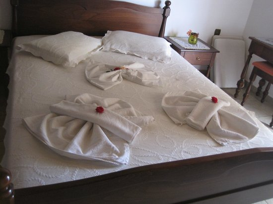 Kavousi Resort: Letto