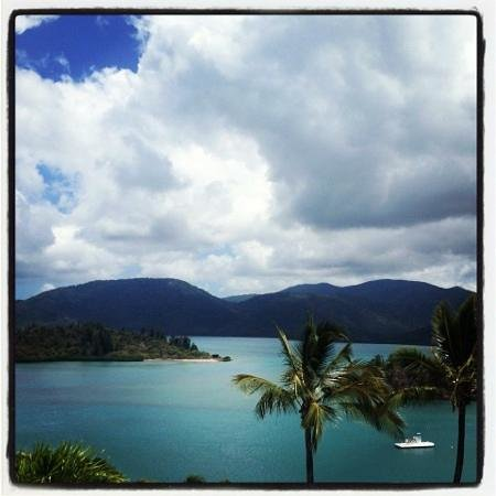 Shute Harbour, Australia: our view!