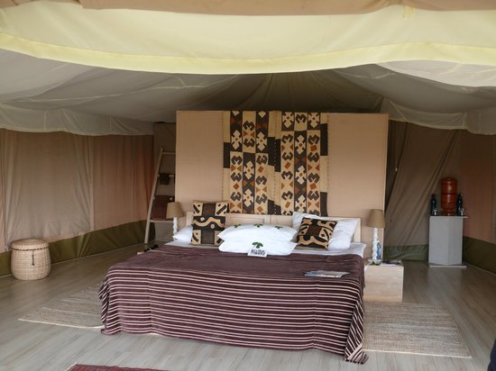 Kicheche Valley Camp: Inside view of the tent