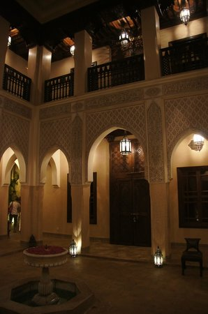 Riad Kniza: Beautiful courtyard
