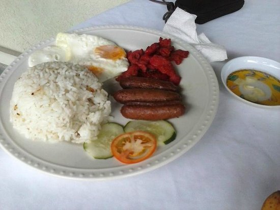 Park Hill Hotel Mactan: Breakfast option