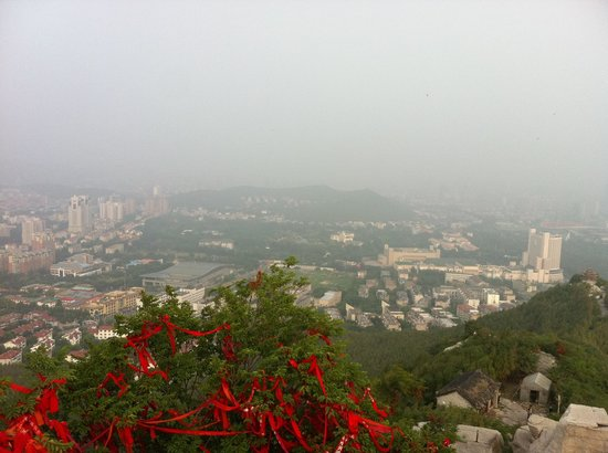 Qianfoshan: View from the top