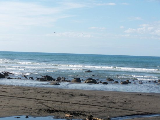 Taranaki Region, Nowa Zelandia: the beach