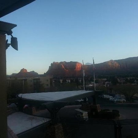 Hilton Sedona Resort at Bell Rock: View in the morning