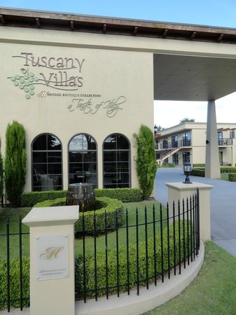 Tuscany Villas Rotorua - Heritage Boutique Collection