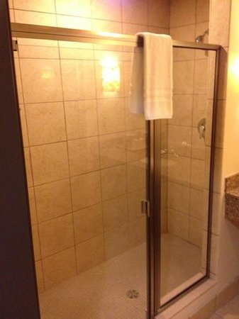 Red Cliff, WI: Shower