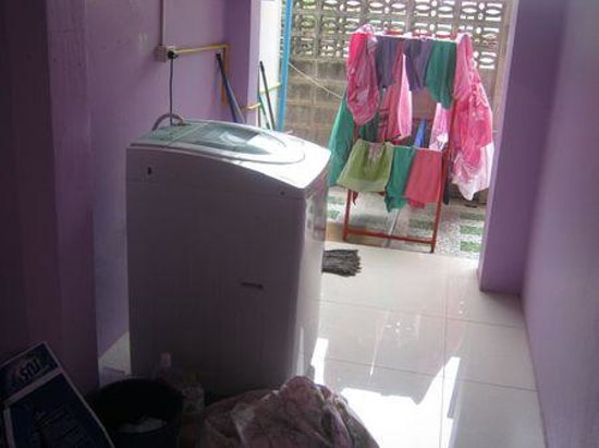 P.U. Inn Ubonpon: washing machine