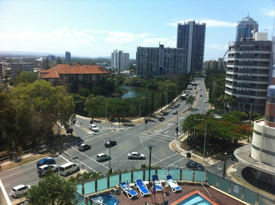 Watermark Hotel & Spa Gold Coast: View from room 2