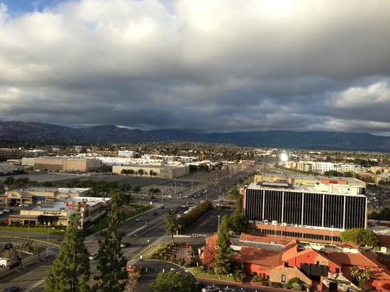 Hilton Woodland Hills/Los Angeles: View from my room.