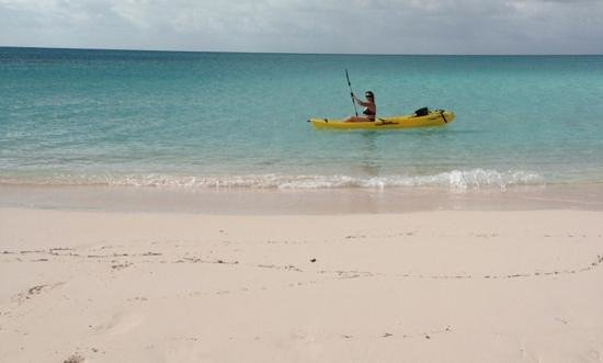 Shannas Cove Resort: kayakers dream spot