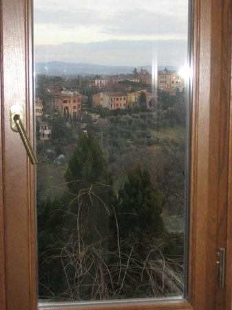 Hotel Santa Caterina: the view from the window