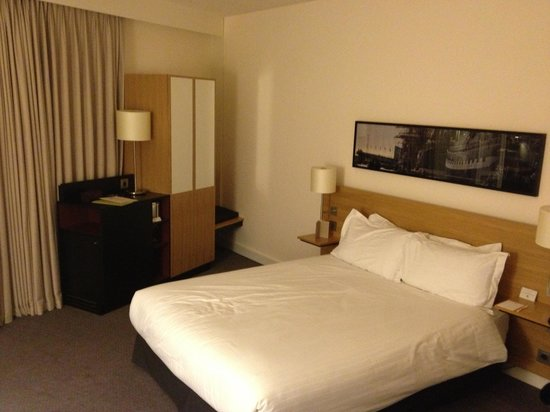 Doubletree by Hilton Hotel Amsterdam Centraal Station: Our room