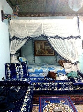 Moroccan House Hotel: our room
