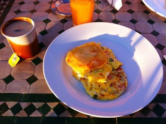 Moroccan House Hotel: breakfast
