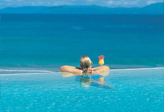 Taveuni Island Resort & Spa: Breathtaking view from our Infinity Pool