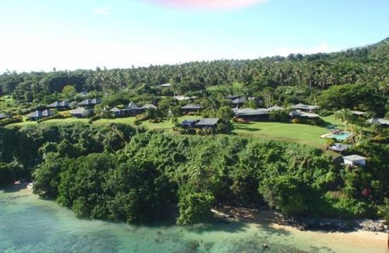 Taveuni Island Resort & Spa: Aerial shot of the resort