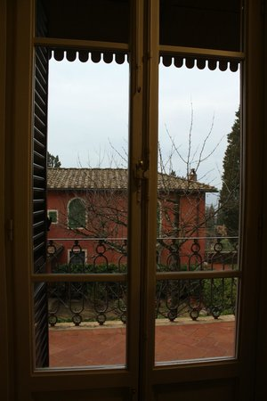 Rignano sull'Arno, Italia: View from kitchen