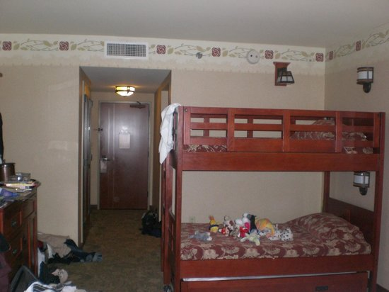 Disney's Grand Californian Hotel: Room size