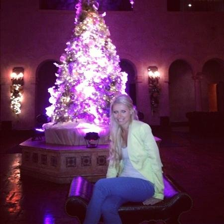 Hollywood Roosevelt Hotel - A Thompson Hotel:                   Christmas in Hollywood