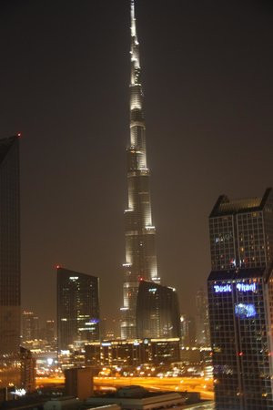Number One Tower Suites: Amazing view of the Burj Khalifa