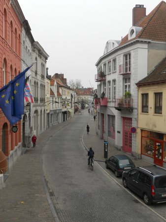 Flanders Hotel: Room with a view